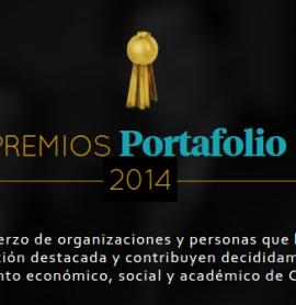 La fundación FUNSAINC en los premios Portafolio 2014